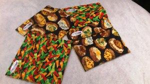 sac pour cuire les légumes au micro-ondes