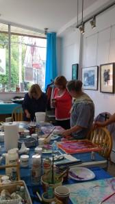 Participantes à l'atelier du 5 octobre